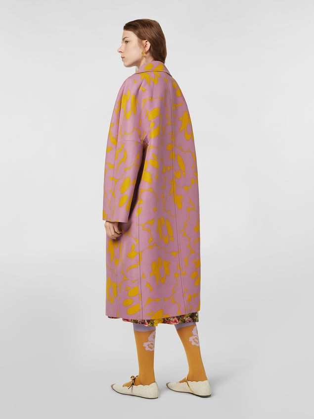 Marni Duster coat in cotton cady with Belou print Woman - 3