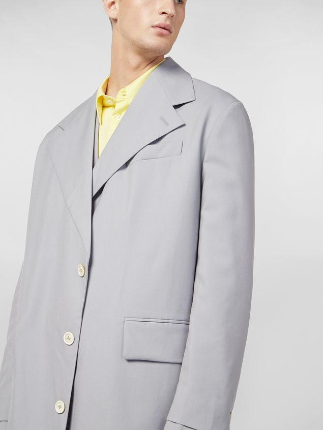 Marni Coat in lightweight nylon canvas Man - 4