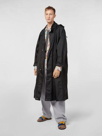 Marni Coat in lightweight nylon canvas Man