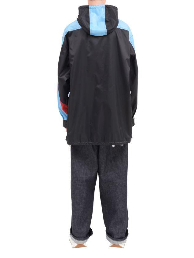 Marni Color-block jacket in light nylon Man