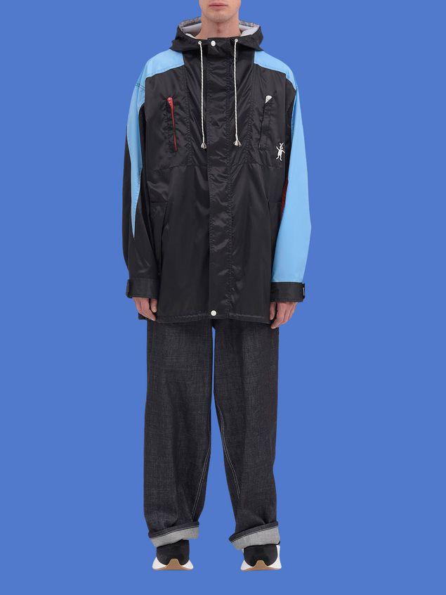 Marni Color-block jacket in light nylon Man - 1