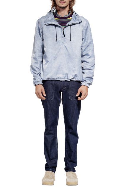 MISSONI Blouson Slate blue Man - Back
