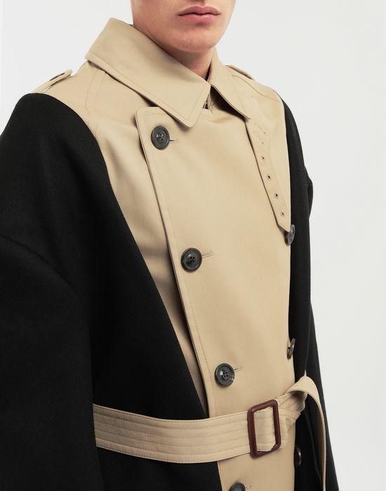 MAISON MARGIELA Two-tone trench coat Raincoat [*** pickupInStoreShippingNotGuaranteed_info ***] a