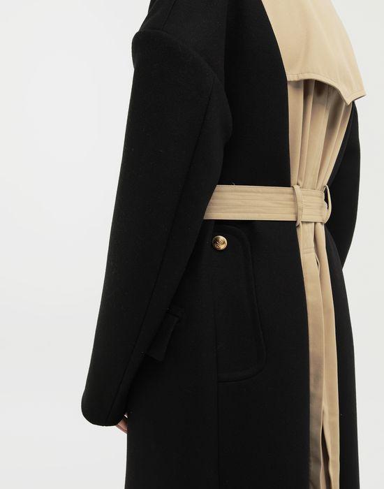 MAISON MARGIELA Two-tone trench coat Raincoat [*** pickupInStoreShippingNotGuaranteed_info ***] b