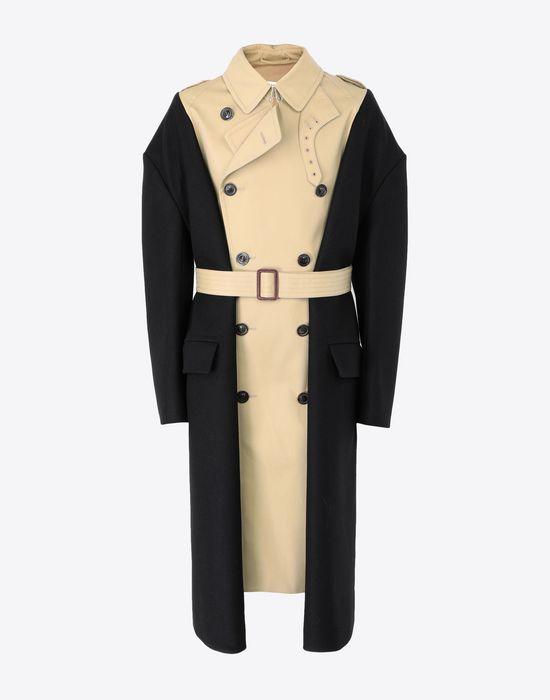 MAISON MARGIELA Two-tone trench coat Raincoat [*** pickupInStoreShippingNotGuaranteed_info ***] f