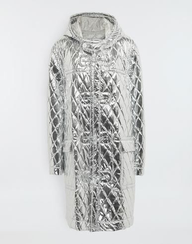 MM6 MAISON MARGIELA Manteau à capuche matelassé Manteau long [*** pickupInStoreShipping_info ***] f