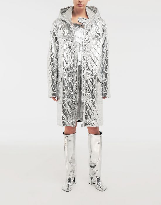 MM6 MAISON MARGIELA Quilted hood coat Coat [*** pickupInStoreShipping_info ***] d