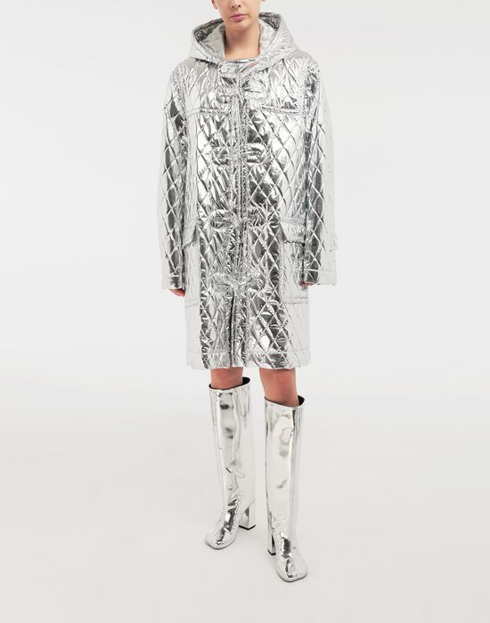 MM6 MAISON MARGIELA Quilted hood coat Coat [*** pickupInStoreShipping_info ***] r