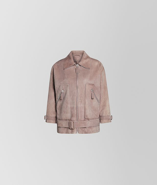 BOTTEGA VENETA JACKET IN SUEDE Outerwear and Jacket [*** pickupInStoreShipping_info ***] fp