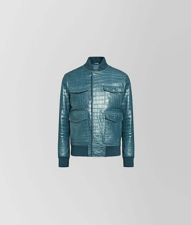 BOTTEGA VENETA JACKET IN CROCODILE Outerwear and Jacket [*** pickupInStoreShippingNotGuaranteed_info ***] fp