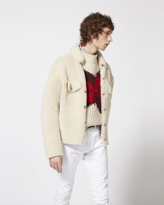 ALEXIS shearling jacket