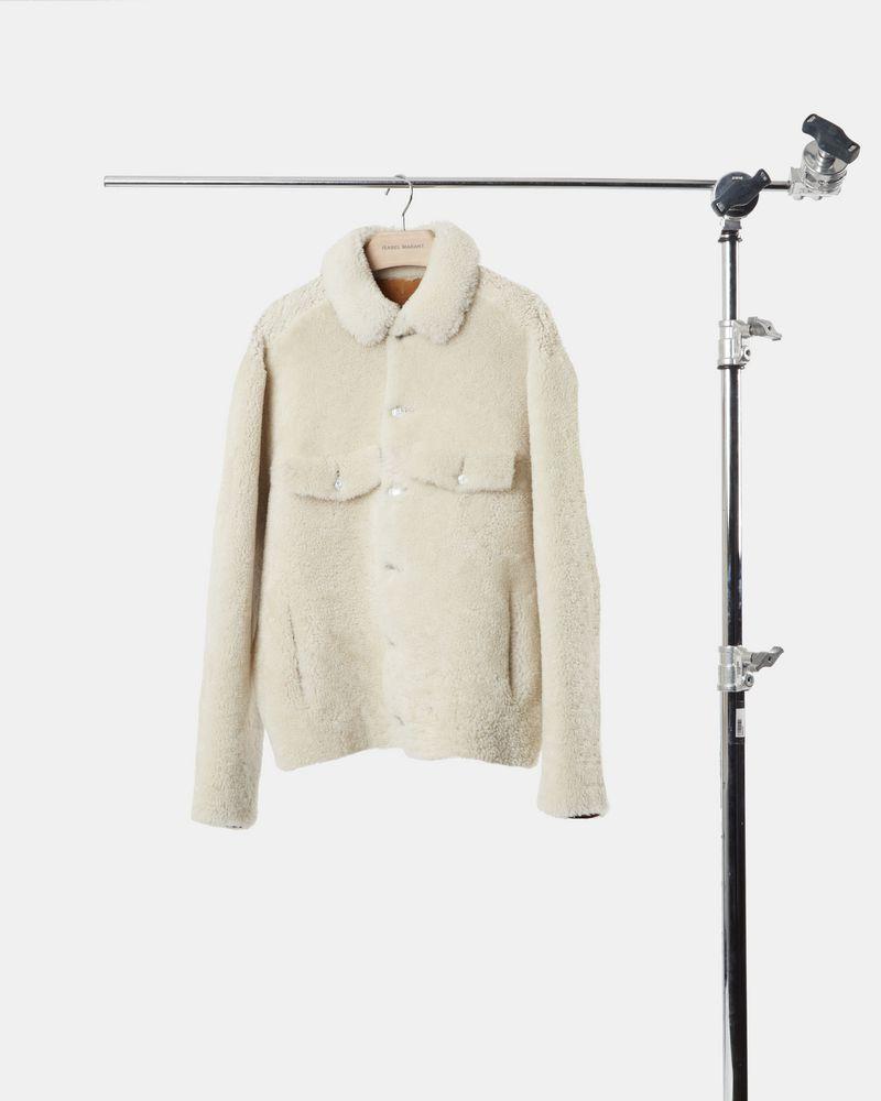 ALEXIS shearling jacket  ISABEL MARANT