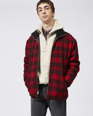 GEENO plaid coat
