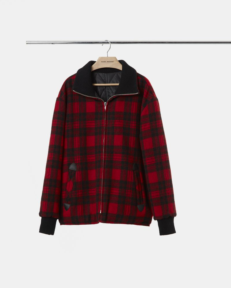 GEENO checked coat  ISABEL MARANT