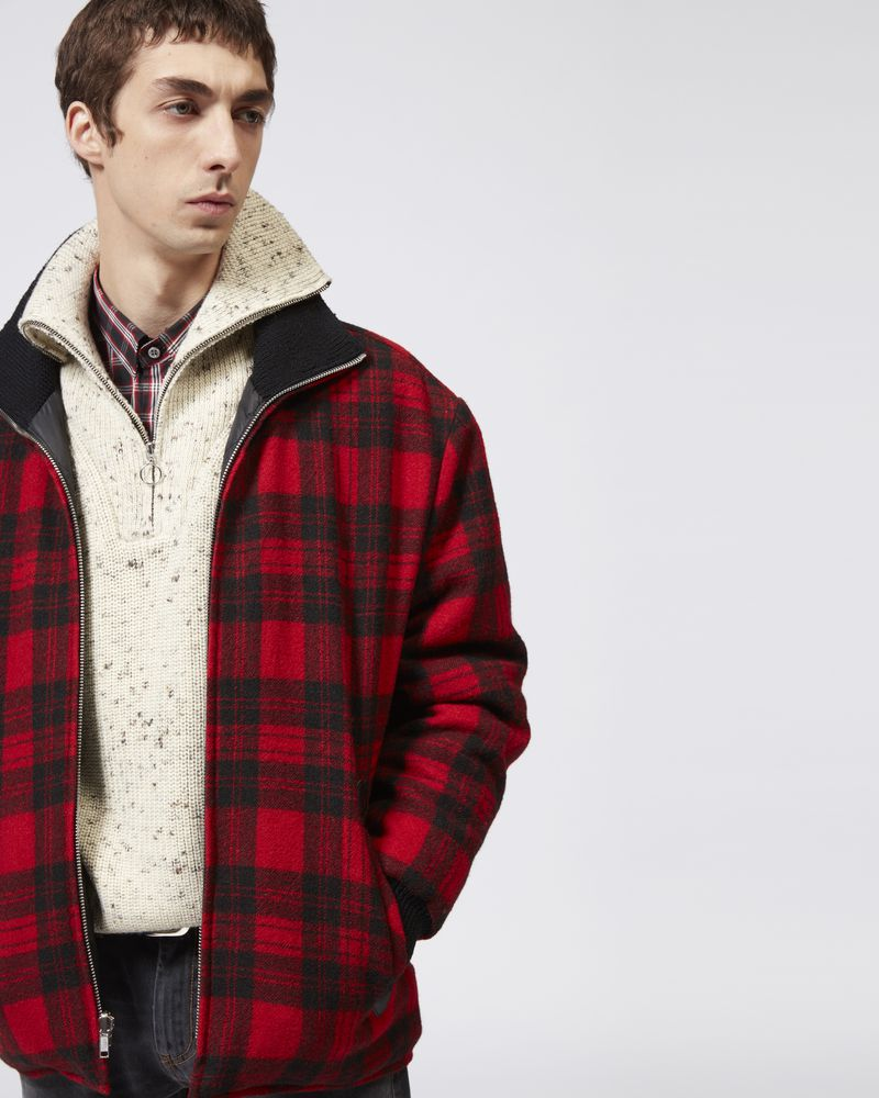 GEENO plaid coat  ISABEL MARANT