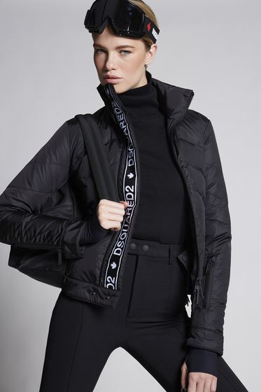 DSQUARED2 Nylon Ski Sportsjacket Kaban Woman