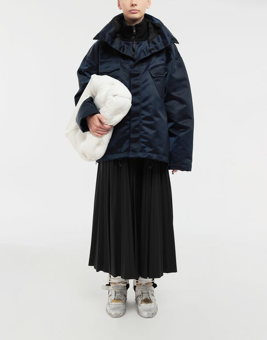 MAISON MARGIELA Techno canvas sportsjacket Jacket [*** pickupInStoreShipping_info ***] d