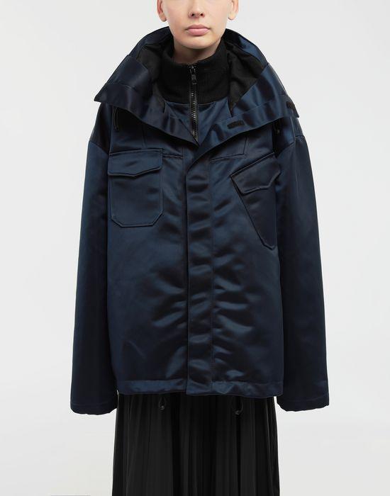MAISON MARGIELA Techno canvas sportsjacket Jacket [*** pickupInStoreShipping_info ***] r