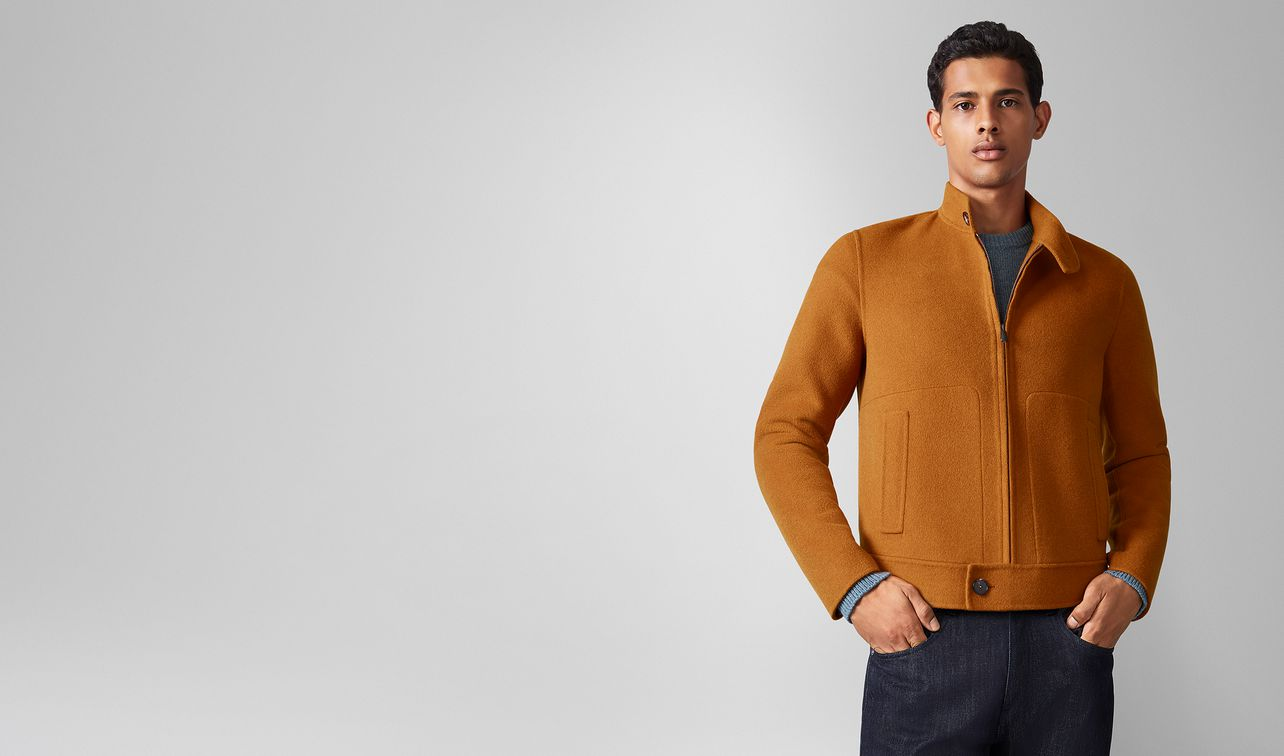 jacket in cashmere  landing