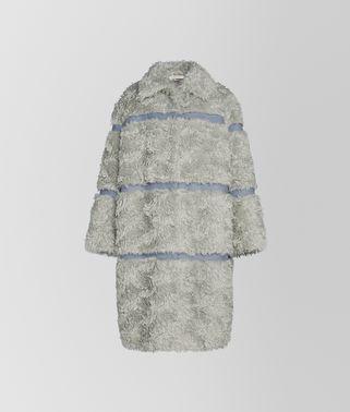 马海毛和棉混纺外套