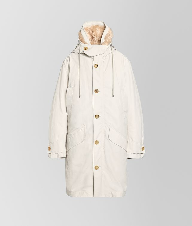 BOTTEGA VENETA COAT IN TECHNICAL COTTON AND MOHAIR Outerwear and Jacket [*** pickupInStoreShipping_info ***] fp
