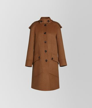 COAT IN DOUBLE CASHMERE AND WOOL