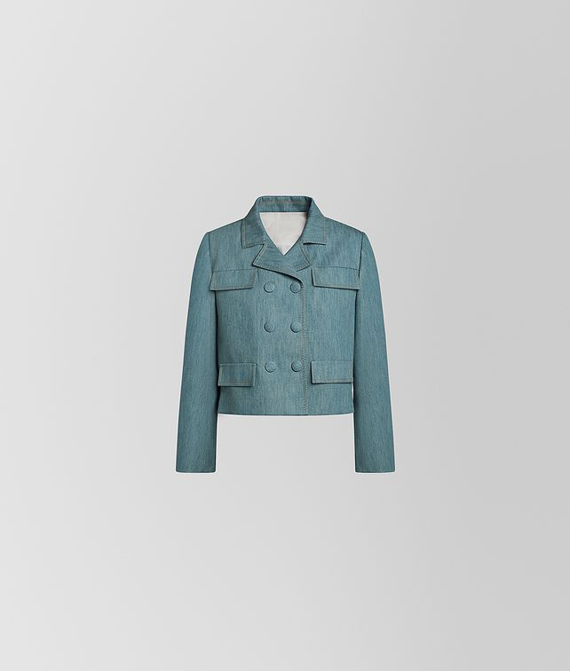 BOTTEGA VENETA JACKET IN COTTON Outerwear and Jacket [*** pickupInStoreShipping_info ***] fp