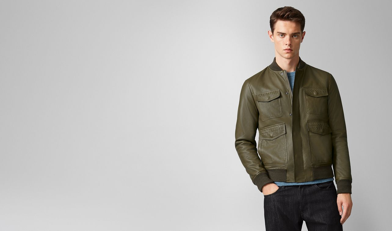 jacket in nappa  landing