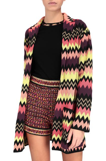 M MISSONI Jacket Black Woman - Front