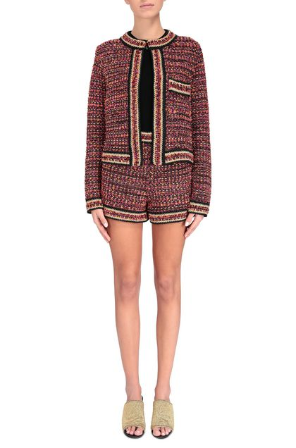M MISSONI Jacket Fuchsia Woman - Back