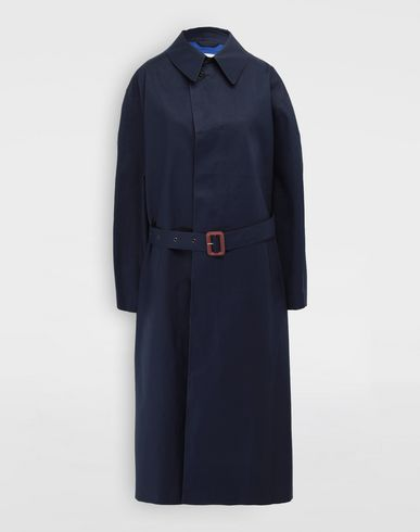 MAISON MARGIELA  Two-tone trench coat Raincoat Woman f