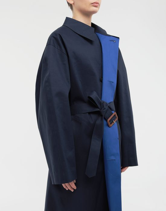 MAISON MARGIELA  Two-tone trench coat Raincoat [*** pickupInStoreShipping_info ***] a