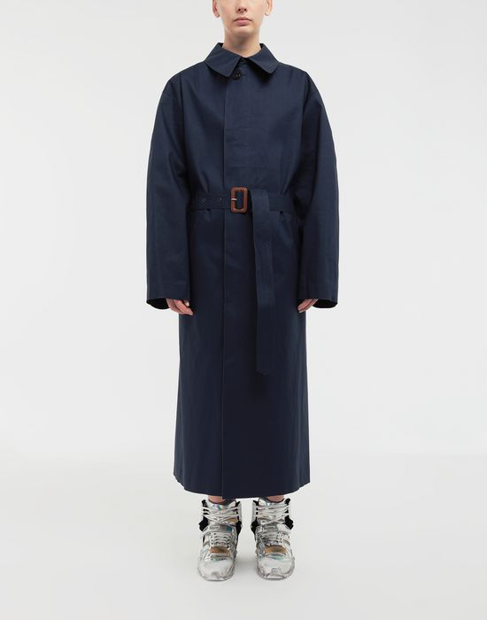 MAISON MARGIELA  Two-tone trench coat Raincoat [*** pickupInStoreShipping_info ***] r