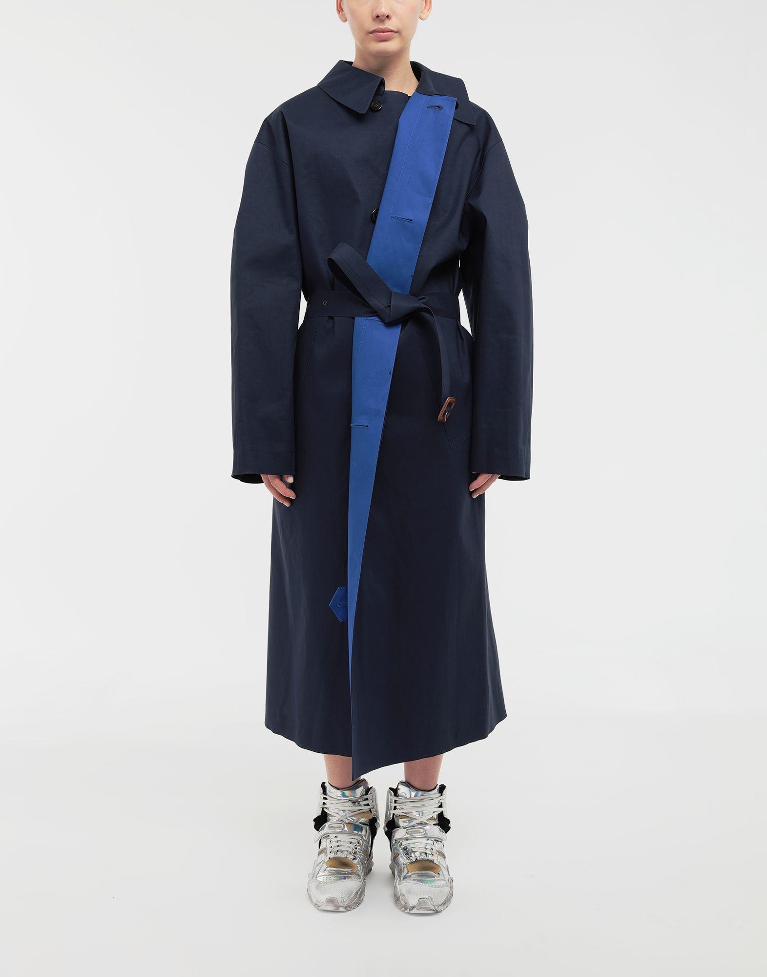MAISON MARGIELA Two-tone trench coat Raincoat Woman d
