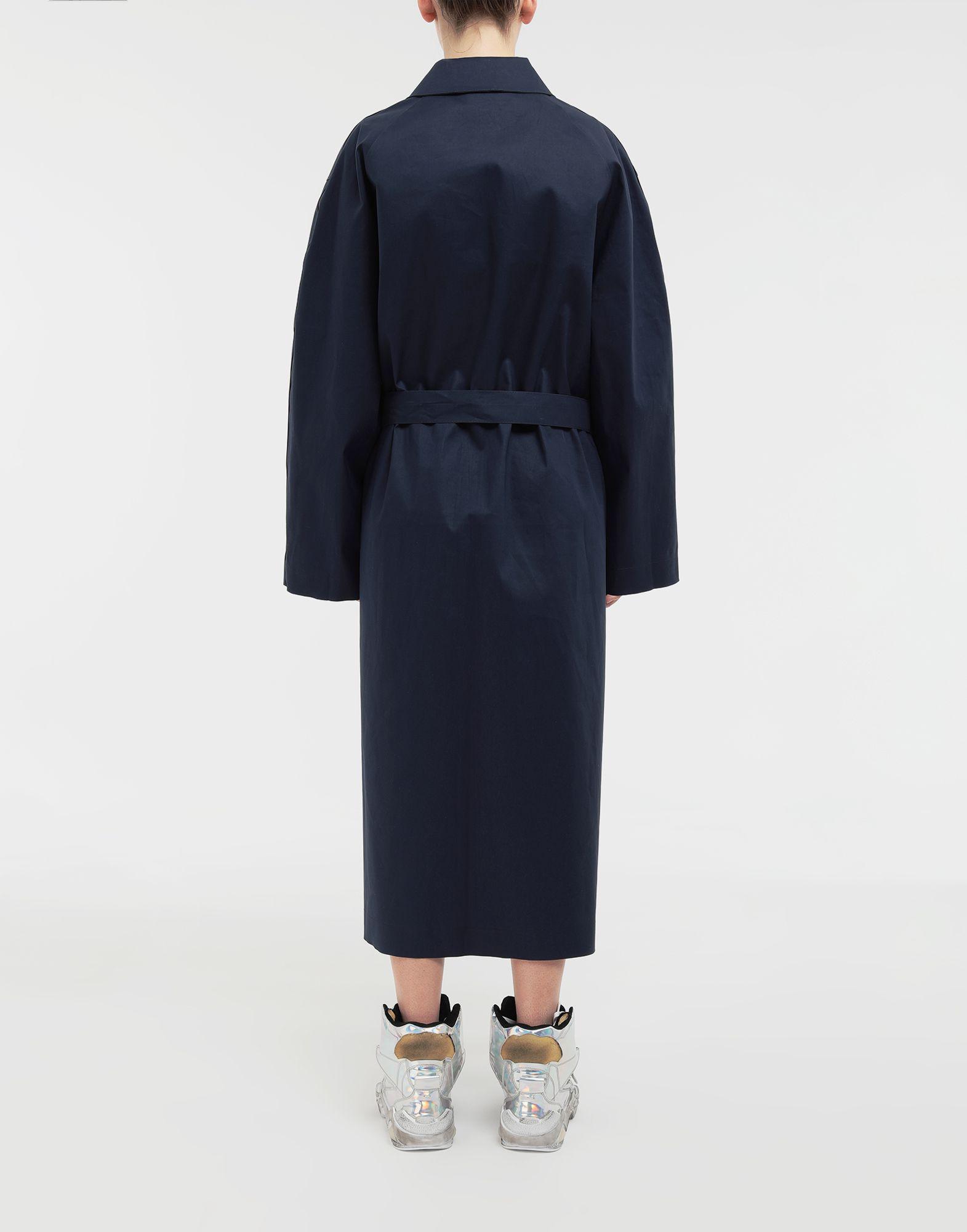 MAISON MARGIELA Two-tone trench coat Raincoat Woman e