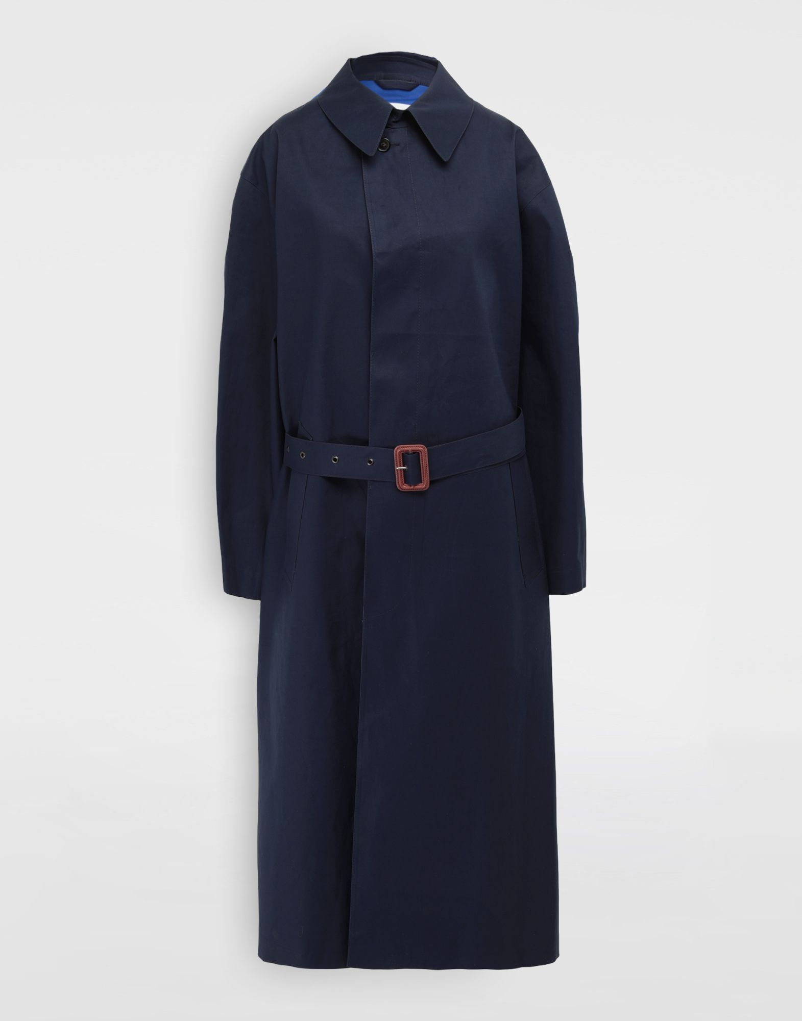 MAISON MARGIELA Two-tone trench coat Raincoat Woman f