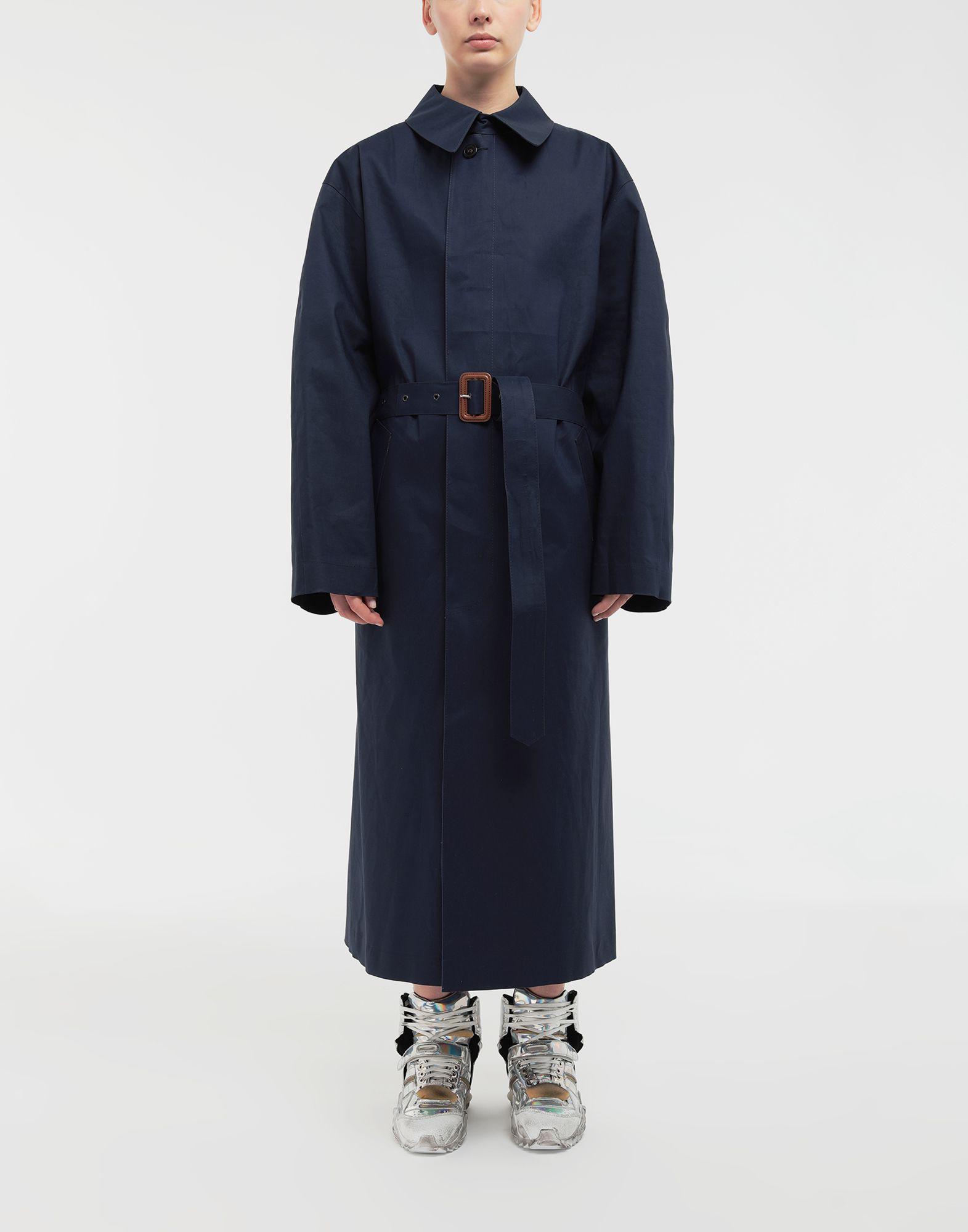 MAISON MARGIELA Two-tone trench coat Raincoat Woman r