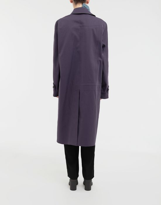 MAISON MARGIELA Bonded twill and denim coat Coat [*** pickupInStoreShipping_info ***] e