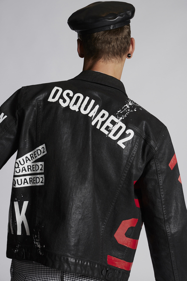 DSQUARED2 Denim outerwear [*** pickupInStoreShippingNotGuaranteed_info ***] S74AM0884S30342470 m