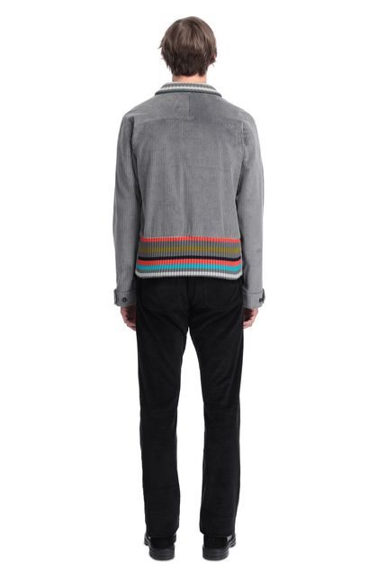 MISSONI Anorak Grey Man - Front