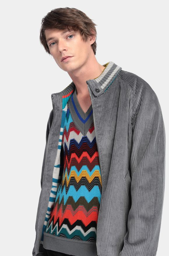 MISSONI Anorak Grey Man