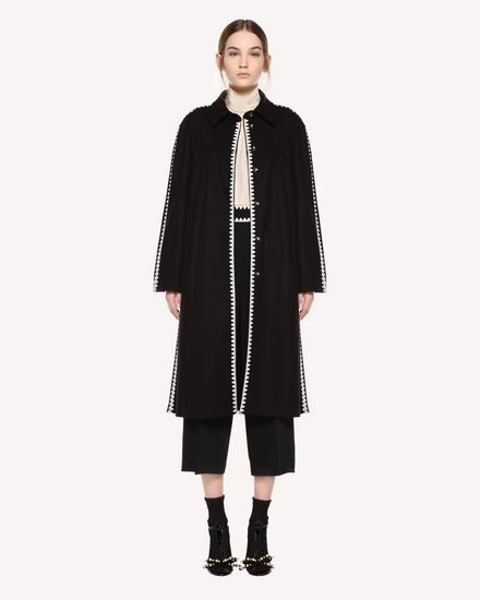 REDValentino Coat Woman QR0CA1U50NA 0NO f