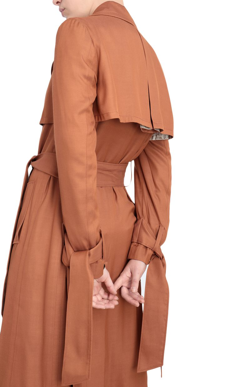 JUST CAVALLI Double-breasted belted trench coat Raincoat [*** pickupInStoreShipping_info ***] e