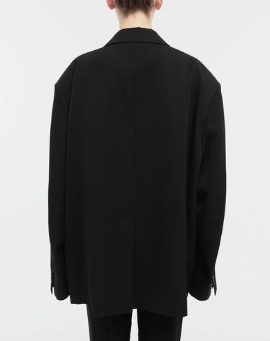 COATS & JACKETS Oversized wool jacket
