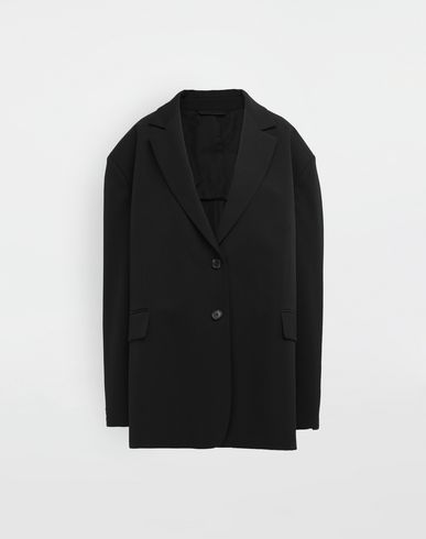 MAISON MARGIELA Blazer [*** pickupInStoreShipping_info ***] Oversized wool jacket f