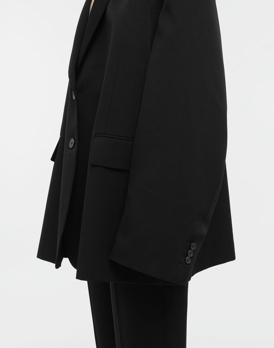 MAISON MARGIELA Oversized wool jacket Blazer [*** pickupInStoreShipping_info ***] b