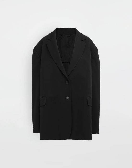 MAISON MARGIELA Oversized wool jacket Blazer [*** pickupInStoreShipping_info ***] f