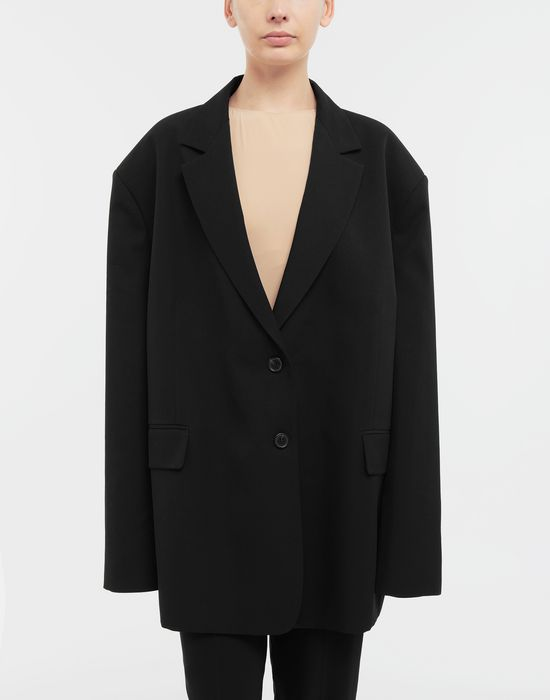 MAISON MARGIELA Oversized wool jacket Blazer [*** pickupInStoreShipping_info ***] r
