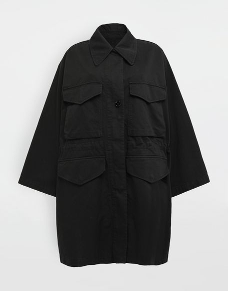MM6 MAISON MARGIELA Military sports jacket Mid-length jacket Woman f