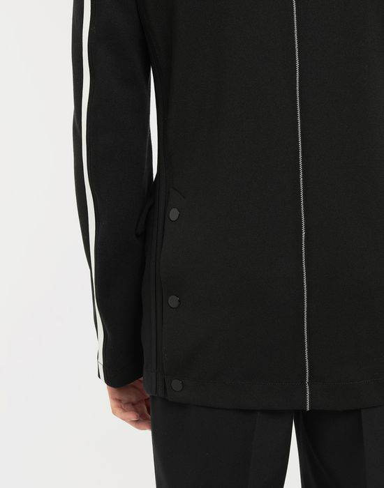 MAISON MARGIELA Exposed seam jersey jacket Blazer [*** pickupInStoreShippingNotGuaranteed_info ***] b